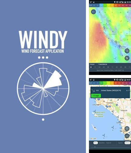 Besides Chronus: Home & lock widgets Android program you can download WINDY: Wind forecast & marine weather for Android phone or tablet for free.