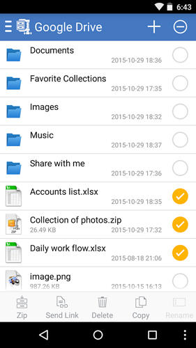 WinZip app for Android, download programs for phones and tablets for free.