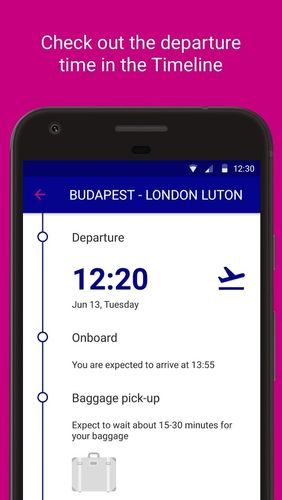 Wizz air app for Android, download programs for phones and tablets for free.