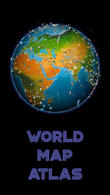 Download World map atlas for Android - best program for phone and tablet.