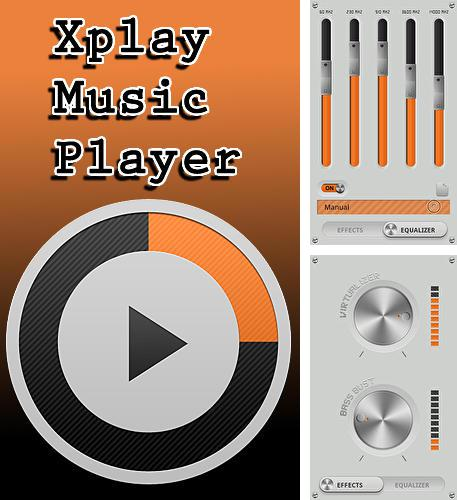 除了Car mediaplayer Android程序可以下载Xplay music player的Andr​​oid手机或平板电脑是免费的。
