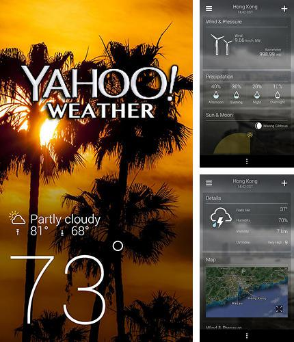 Besides Better Camera Unlocked Android program you can download Yahoo weather for Android phone or tablet for free.