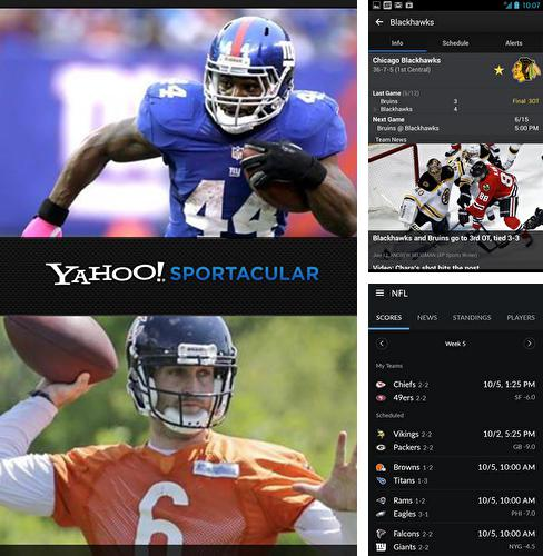 Download Yahoo! Sportacular for Android phones and tablets.