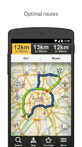 Yandex navigator app for Android, download programs for phones and tablets for free.