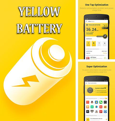 Download Yellow battery for Android phones and tablets.