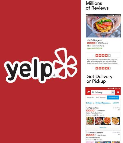 Descargar gratis Yelp: Food, shopping, services para Android. Apps para teléfonos y tabletas.