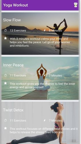 Download Yoga workout - Daily yoga for Android for free. Apps for phones and tablets.