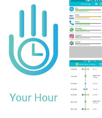 Além do programa Notin - notes in notification para Android, pode baixar grátis Your hour - Phone addiction tracker and controller para celular ou tablet em Android.