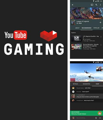 Besides Fabulous: Motivate me Android program you can download YouTube Gaming for Android phone or tablet for free.