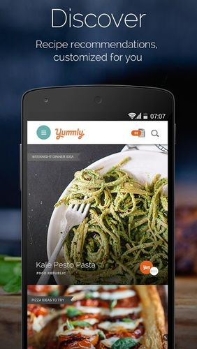 Descargar gratis Yummly: Recipes & Shopping list para Android. Programas para teléfonos y tabletas.