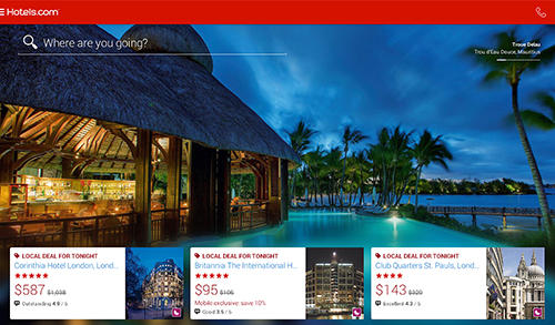 Download Hotels.com: Hotel reservation for Android for free. Apps for phones and tablets.
