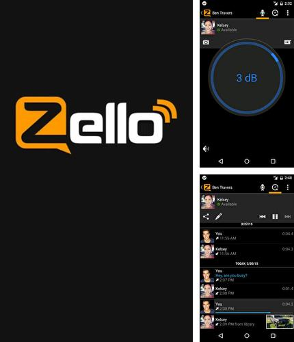 Besides Dock launcher Android program you can download Zello: PTT Walkie Talkie for Android phone or tablet for free.
