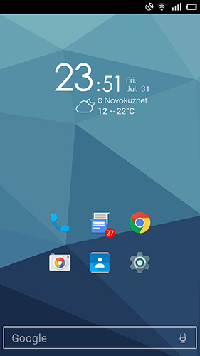 AIO launcher app for Android, download programs for phones and tablets for free.