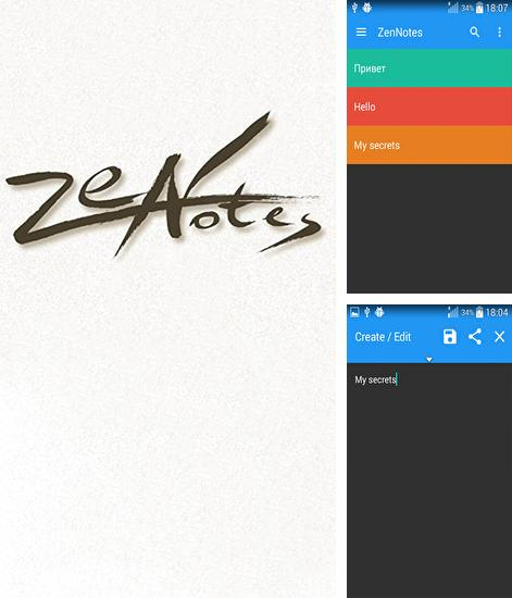 ZenNotes: Secure Notepad