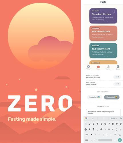 Download Zero - Fasting tracker for Android phones and tablets.