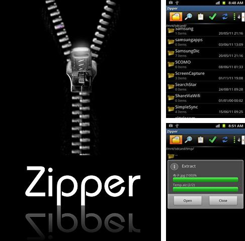 Download Zipper for Android phones and tablets.