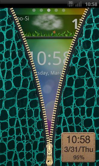 Capturas de tela do programa Nexus clock widget em celular ou tablete Android.