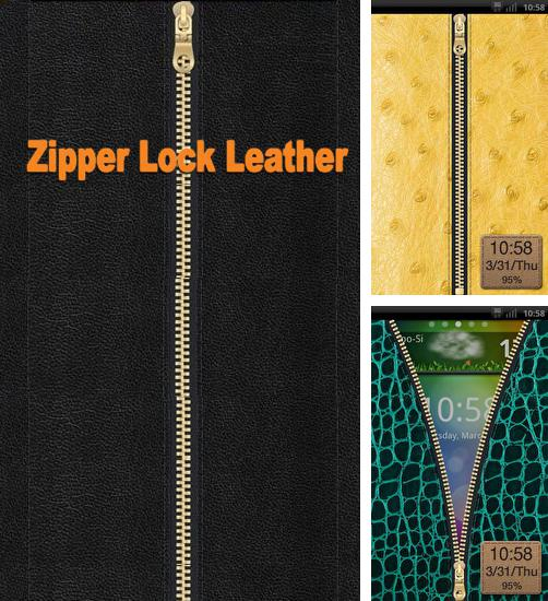 Descargar gratis Zipper Lock Leather para Android. Apps para teléfonos y tabletas.