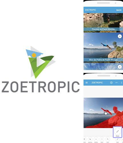 Besides Sweet camera - Selfie filters, beauty camera Android program you can download Zoetropic - Photo in motion for Android phone or tablet for free.