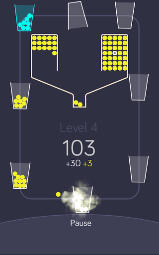 100 balls with the cups screenshot 3