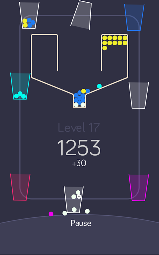 100 balls with the cups screenshot 4
