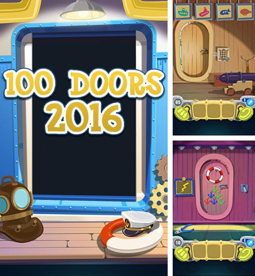 In addition to the game 100 locked doors 2 for Android phones and tablets, you can also download 100 doors 2016 for free.