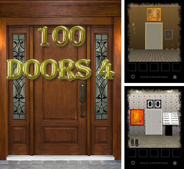 In addition to the game 100 locked doors 2 for Android phones and tablets, you can also download 100 Doors 4 for free.