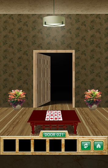 Download 100 doors 5 stars Android free game.