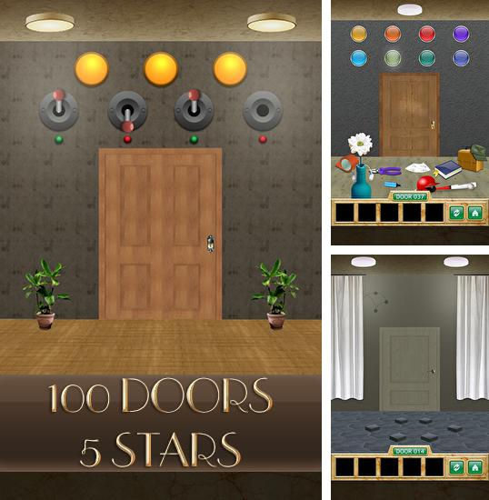 In addition to the game 100 locked doors 2 for Android phones and tablets, you can also download 100 doors 5 stars for free.