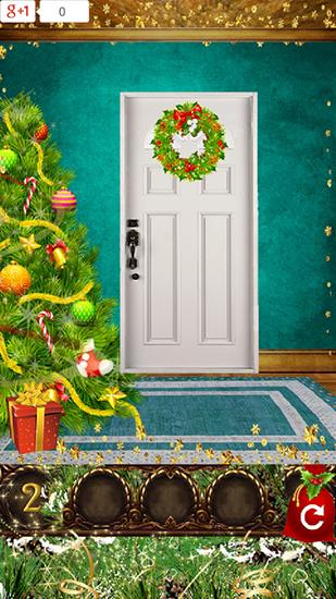 Download 100 doors: Christmas gifts Android free game.