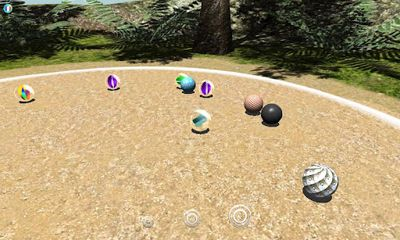 Screenshots of the 101 Marbles for Android tablet, phone.