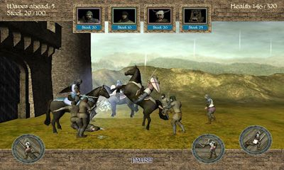 Download 1096 AD Knight Crusades Android free game.
