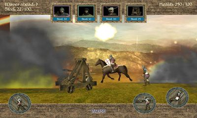 Screenshots of the 1096 AD Knight Crusades for Android tablet, phone.