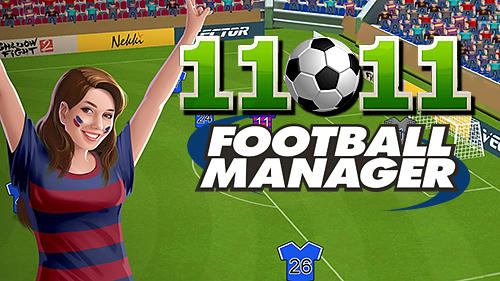 11x11: Football manager poster