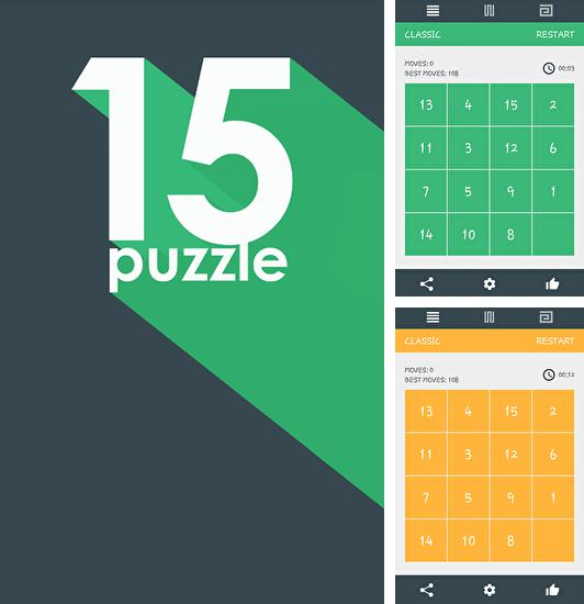 In addition to the game 15 Puzzle Challenge for Android phones and tablets, you can also download 15 puzzle for free.