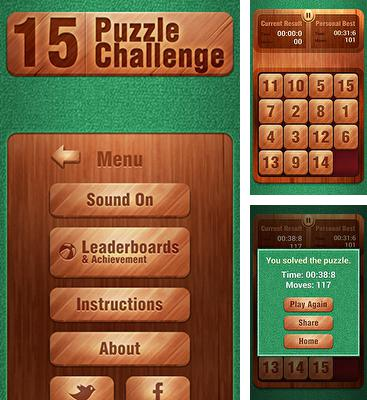 15 Puzzle Challenge for Android - Download APK free