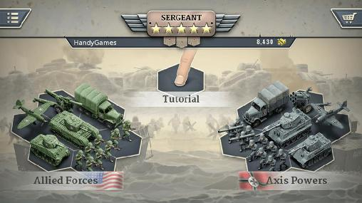 Screenshots von 1944: Burning bridges für Android-Tablet, Smartphone.