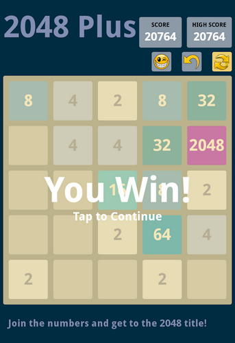 2048 plus screenshot 3