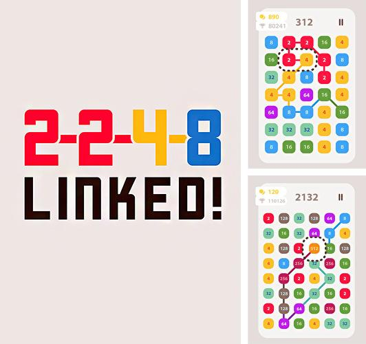 In addition to the game Up 9: Hexa puzzle! Merge numbers to get 9 for Android phones and tablets, you can also download 2248 linked! for free.