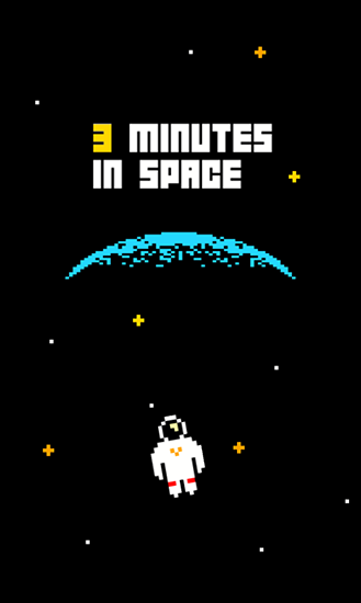 3 minutes in space
