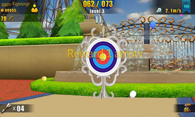 Screenshots of the 3D Archery 2 for Android tablet, phone.