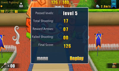 Screenshots von 3D Archery 2 für Android-Tablet, Smartphone.