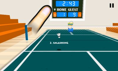 3D Badminton screenshot 1