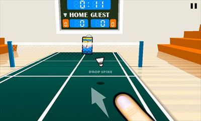3D Badminton screenshot 2