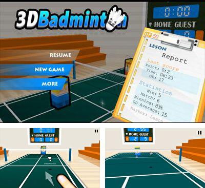 In addition to the game Safe Krackers for Android phones and tablets, you can also download 3D Badminton for free.