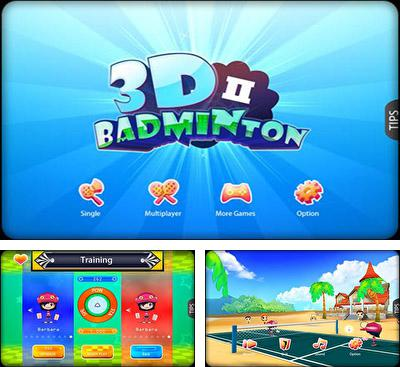 In addition to the game Badminton for Android phones and tablets, you can also download 3D Badminton II for free.