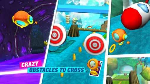 Screenshots do 3D ball run - Perigoso para tablet e celular Android.