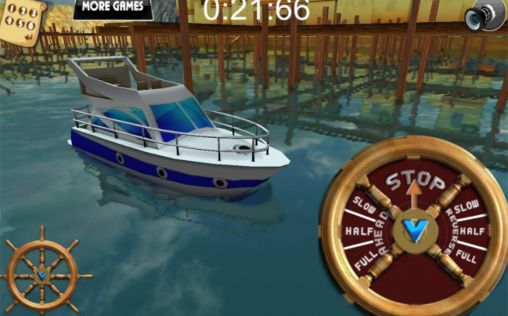 Download 3D Boat parking: Ship simulator Android free game.