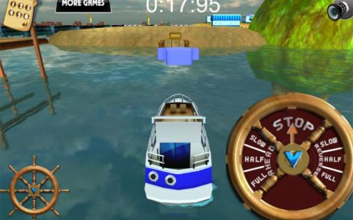 Get full version of Android apk app 3D Boat parking: Ship simulator for tablet and phone.