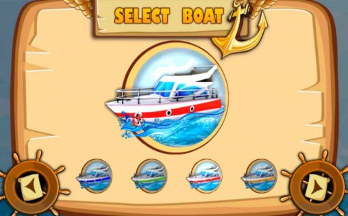 Screenshots of the 3D Boat parking: Ship simulator for Android tablet, phone.